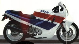 Honda Motorcycles Hurricane Cbr600f