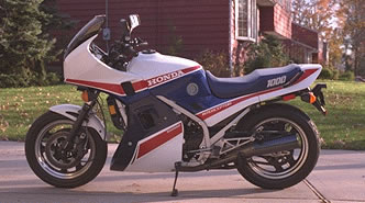 1984 VF1000F with lower cowling