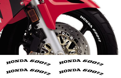 Rim Decal set Honda  600F2